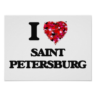 Amo St Petersburg Rusia Póster