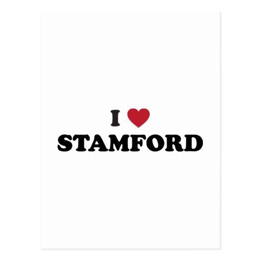Amo Stamford Connecticut Postales