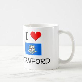 Amo Stamford Connecticut Taza Clásica