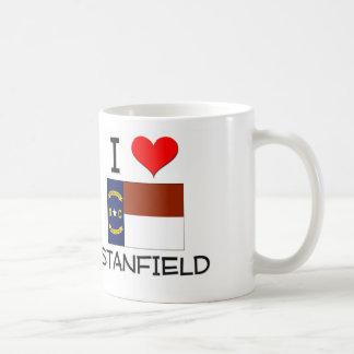 Amo Stanfield Carolina del Norte Tazas De Café