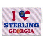 Amo Sterling, Georgia Felicitación