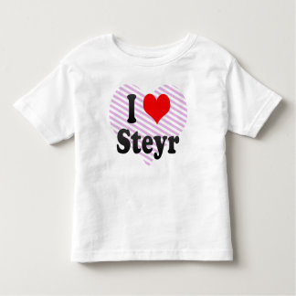 Amo Steyr, Austria. Ich Liebe Steyr, Austria Playera De Bebé