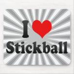 Amo Stickball Tapetes De Ratones