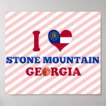 Amo Stone Mountain, Georgia Posters
