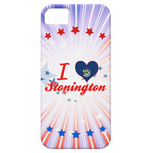 Amo Stonington, Maine iPhone 5 Carcasa