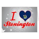 Amo Stonington, Maine Tarjeta