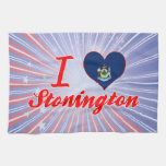 Amo Stonington, Maine Toallas De Mano