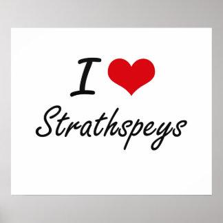 Amo STRATHSPEYS Póster