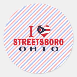 Amo Streetsboro Ohio Etiqueta