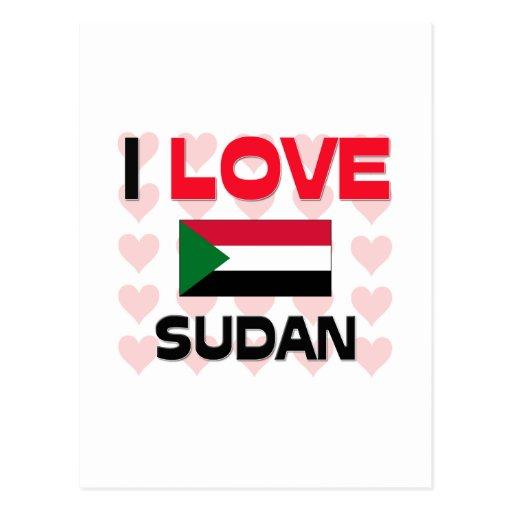 Amo Sudán Postales