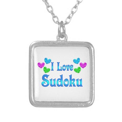 Amo Sudoku Colgante Cuadrado