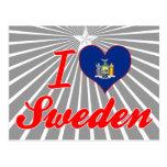 Amo Suecia, Nueva York Postal