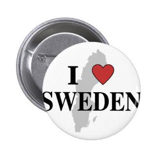 Amo Suecia Pin