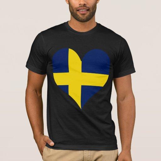 Amo Suecia Playera