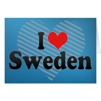 Amo Suecia Felicitaciones