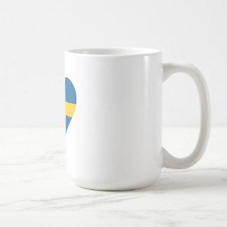 Amo Suecia Taza Clásica