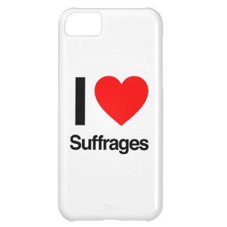 amo sufragios funda para iPhone 5C