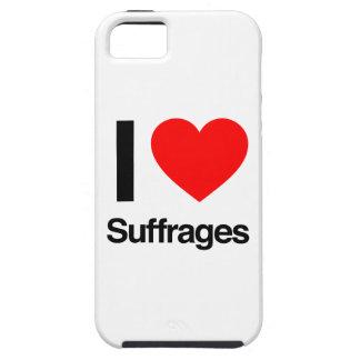 amo sufragios iPhone 5 carcasas