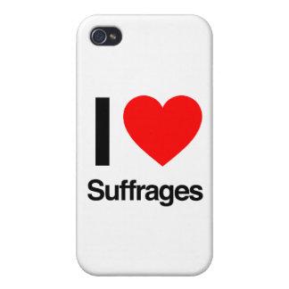 amo sufragios iPhone 4 carcasa