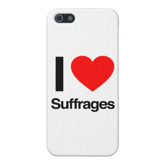 amo sufragios iPhone 5 funda