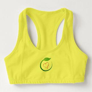 Amo sujetadores Eco-Verdes de los deportes de la Bra Deportivo