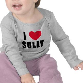 Amo Sully el CORAZÓN de I Sully Camisetas