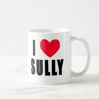Amo Sully el CORAZÓN de I Sully Taza Clásica