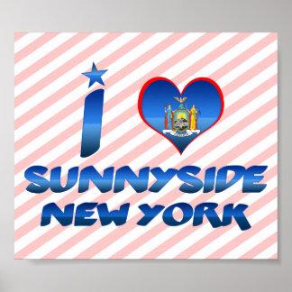 Amo Sunnyside, Nueva York Poster