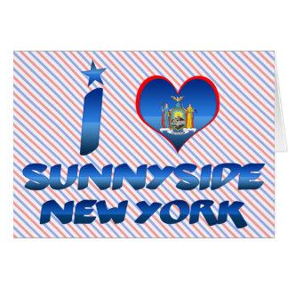 Amo Sunnyside, Nueva York Tarjetas