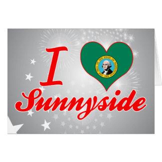 Amo Sunnyside, Washington Felicitación