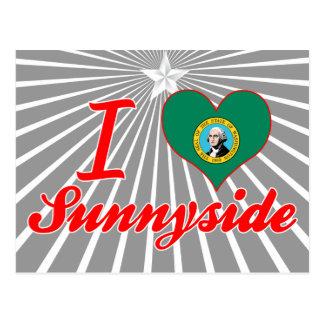 Amo Sunnyside, Washington Tarjeta Postal