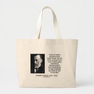 Amo supremo de la imaginación de Joseph Conrad del Bolsa De Mano