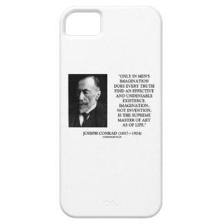 Amo supremo de la imaginación de Joseph Conrad del iPhone 5 Case-Mate Cárcasas