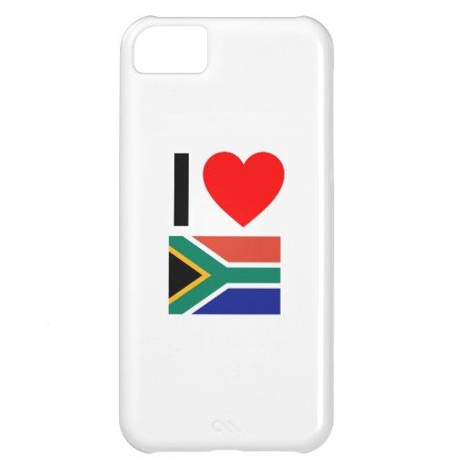 amo Suráfrica Funda Para iPhone 5C