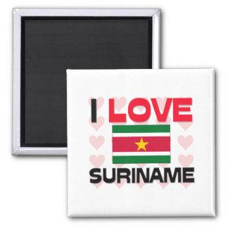 Amo Suriname Iman De Frigorífico