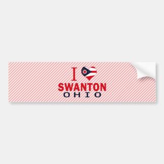 Amo Swanton, Ohio Pegatina De Parachoque