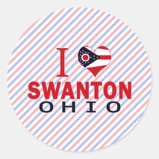 Amo Swanton, Ohio Etiquetas Redondas