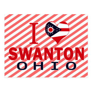 Amo Swanton, Ohio Tarjeta Postal