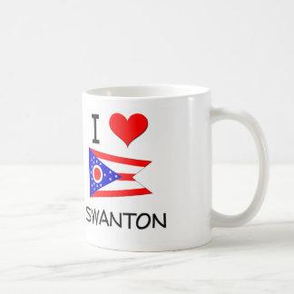 Amo Swanton Ohio Tazas De Café