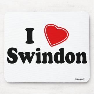 Amo Swindon Alfombrillas De Raton