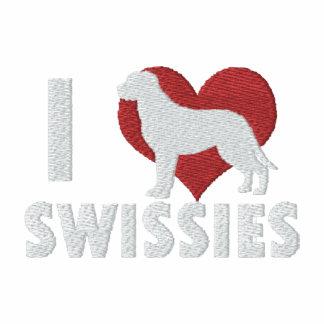 Amo Swissies Polo Bordado
