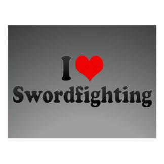 Amo Swordfighting Postal