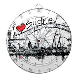 Amo Sydney Tablero De Dardos