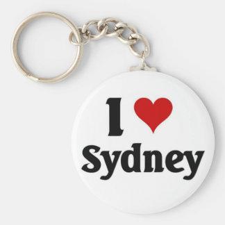 Amo Sydney Llaveros Personalizados