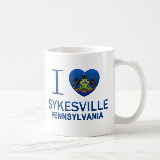 Amo Sykesville, PA Tazas De Café