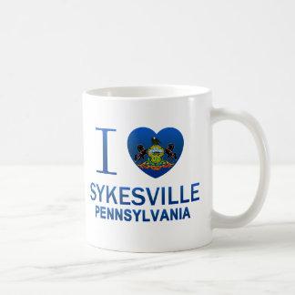 Amo Sykesville, PA Taza Clásica
