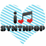 Amo Synthpop Escultura Fotografica