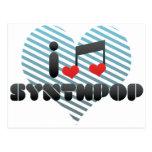 Amo Synthpop Tarjetas Postales