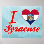 Amo Syracuse, Missouri Impresiones