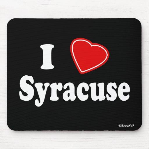 Amo Syracuse Tapetes De Ratón